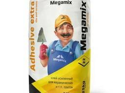 Клей усиленный для плиток Megamix 25кг.