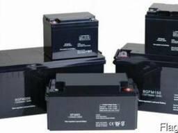 Аккумуляторные батареи 6, 12, 24V