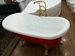 Акриловые ванны, душевые кабины, гидромассажные ванны