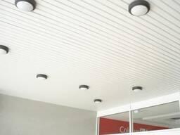Алюминиевый реечный потолок Албест