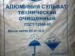 Алюминий сульфат технический, очищенный, «высший сорт» (серн