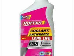 "Антифриз Hoffen1 coollant/antifreeze ""long life"" red 1л"