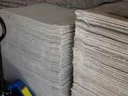 Асбестовый картон толщина 3см 4см 5см 6см(россия)