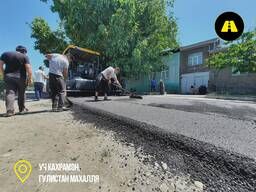 Асфальтирование дорог в Ташкенте. Асфальт и Дорожная разметка