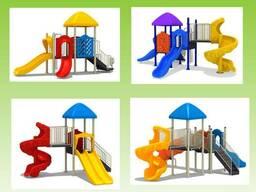 Аттракционы и детские площадки