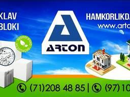 Автоклавный газоблок ARTON
