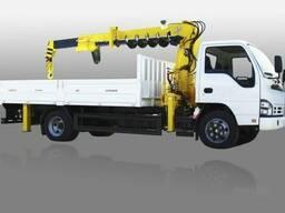 Автокран манипулятор ISUZU NQR 71PL 3 тонны в наличии