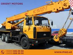 Автокран МАЗ-КС-45729А-0-01