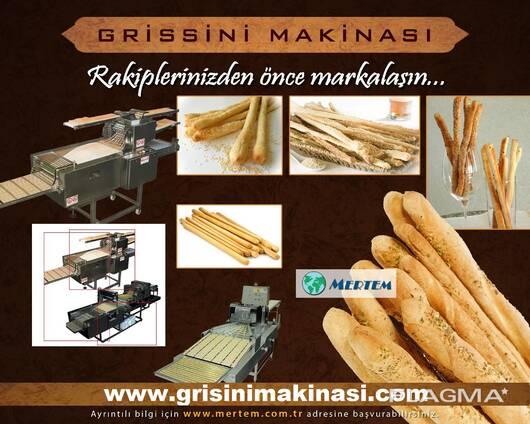 Автоматическая линия для производства хлебных палочек грисси