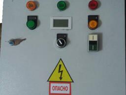Автоматическая система контроля управления двигателя насоса