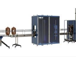 Автоматический комплекс подготовки ПЭТ-КЕГ к розливу