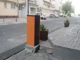 Шлагбаум для входа здании