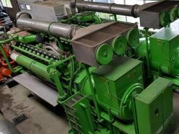 Б/У газовый двигатель Jenbacher J 620 GSE01,2800 Квт,2009 г.