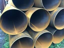 Трубы стальные бесшовные, прямошовные, Спиралешовные