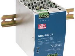 Блок питания NDR-480-24 20A MEAN WELL
