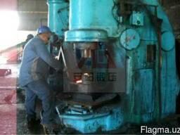 Целевой пневматический молот для производства стальных шаров