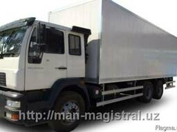 Цельнометаллический автофургон MAN CLA 31.280 6x4 BB