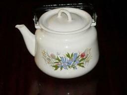 Чайник эмалированный 3л Узб