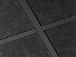 Чёрные потолки и черные стеновые панели Rockfon - фото 1