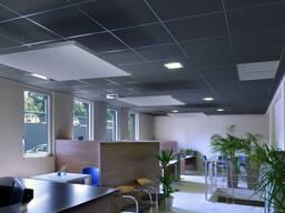 Чёрные потолки и черные стеновые панели Rockfon - фото 3