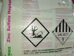 Сульфат цинка 7 водный марка Ч