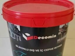 Decomin Facade - Силиконовая Фасадная Краска 20 КГ