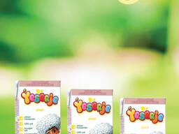 Детские фруктовые соки и пюре
