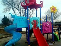 Детские стульчики, детские горки, площадки, качели