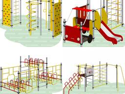Детские спортивные игровые площадки комплексы Romana