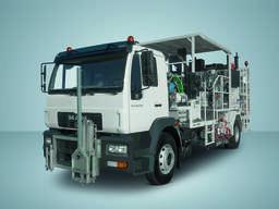 Дорожно -разметочная автомашина CLA 16.2020 4x2 BB