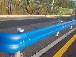 Дорожные ограждения барьерного типа из ПВХ