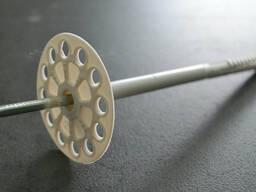 Дюбель для теплоизоляции с металлическим гвоздем