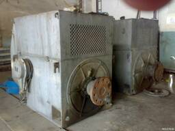 Электро двигатель 315кВт 1500 об. мин 6000 в ДАЗО-4