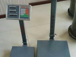 Электронные весы 300 кг большие размеры