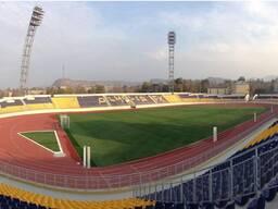 Строительство спортивных объектов. Футбольные поля.