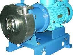 Герметичные химические дисковые электронасосные агрегаты серии ГХД