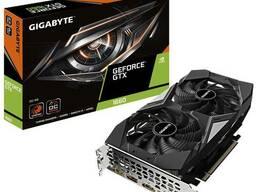 Видеокарта, Gigabyte - 6GB GTX1660 OC GDDR5 GV-N1660OC-6GD 192bit