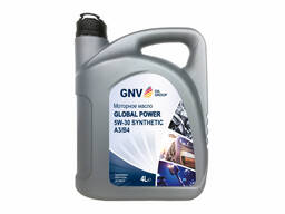 Моторное масло GNV Global Power Synthetic 5W-30 A3/B4