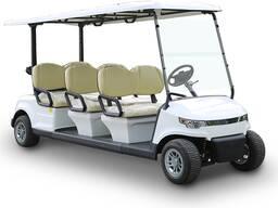 Golf cart, электромобиль, электрический транспорт.
