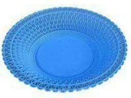Хлебница пластмассовая круглый