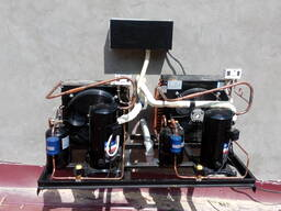 Холодильные агрегаты. Воздухоохладители. Компрессоры шоковой заморозки.