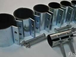 Хомуты для труб (диаметр от 20 до 200 мм)