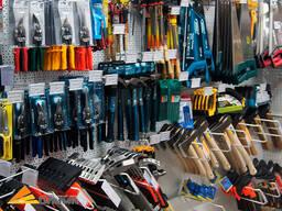 Инструменты в ассортименте