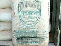 Глина отбельная Пакистан для очистки масла а также нефтепродуктов