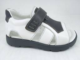Kid's shoes from manufacturer. Natural leather. Only wholesale.