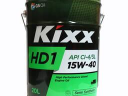 Kixx HD1 15W/40, Дизельное масло 20 л, 6 л