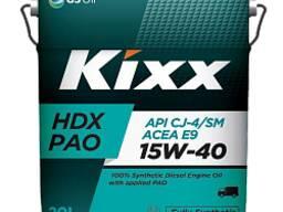 Kixx PAO HDX 15W-40, Дизельное масло. 20 л