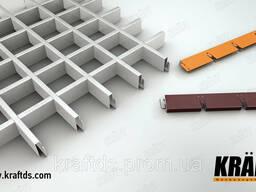 Грильято - стандартный решетчатый подвесной потолок