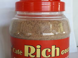 Кофе Cafe Rich 3в1 Mix Раствор в Пласт Банке по 1кг .12 банок в коробке