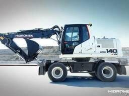 Колесный экскаватор - Hidromek HMK 140 W